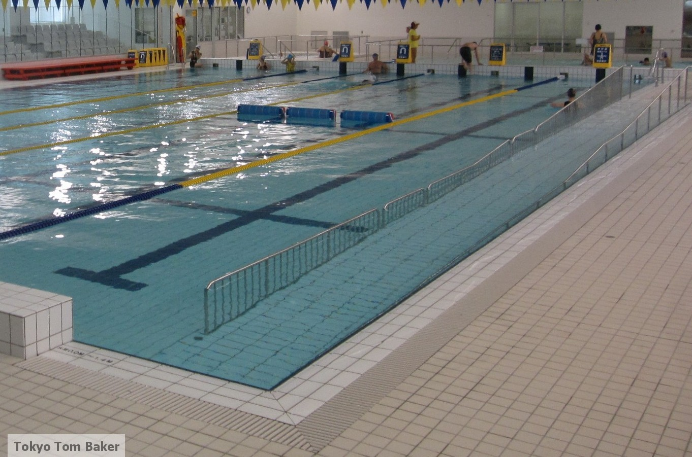 Pics photos swimming pool rules depths sign - Wheelchair