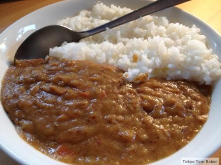Iwashi curry marked