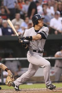 Hideki Matsui  Photo by Keith Allison via Wikimedia Commons