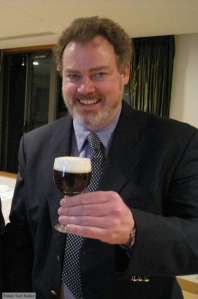 Here I am in 2009, a bit overdue for a haircut but right on time for a hot glass of Irish coffee.
