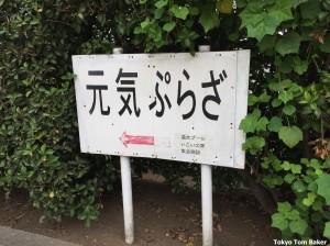 Genki sign marked